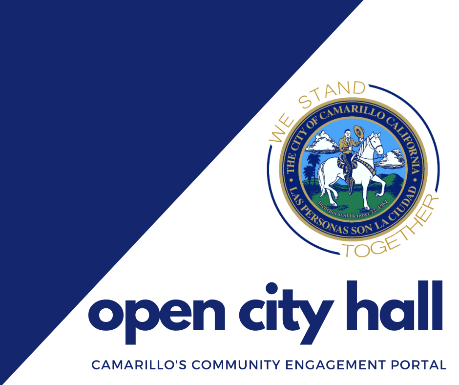 Logo for Camarillo's Community Engagement Portal