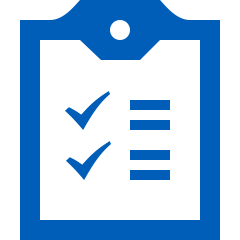 graphic image of a clipboard