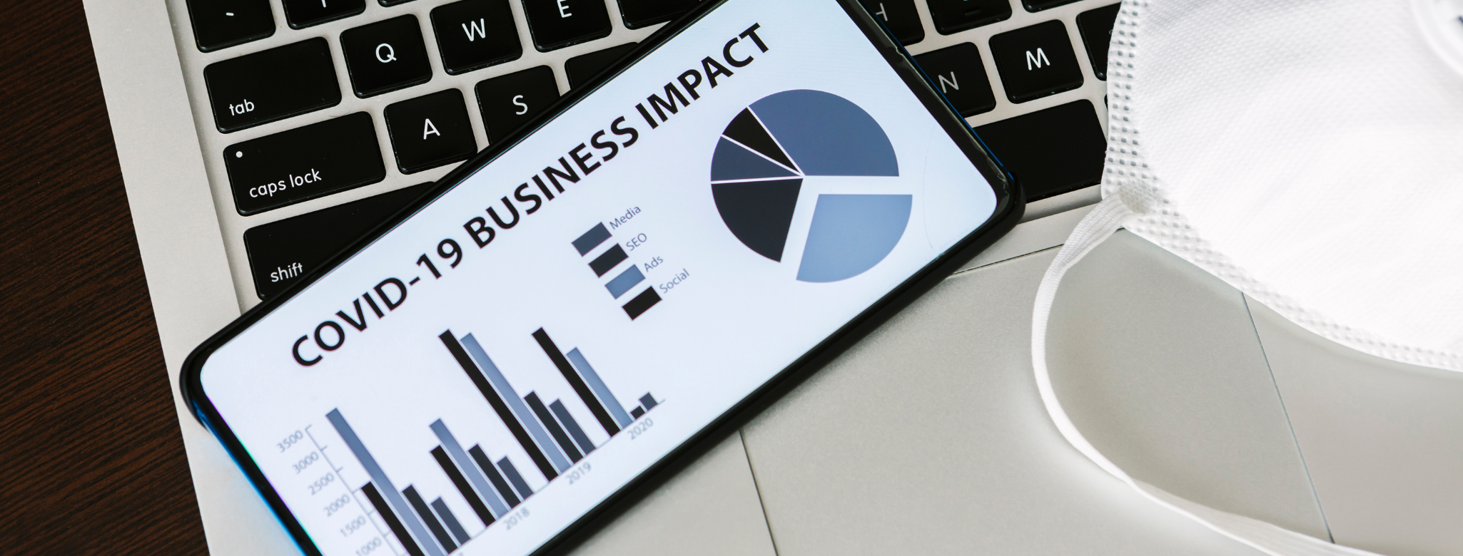 image of computer with business impact statement