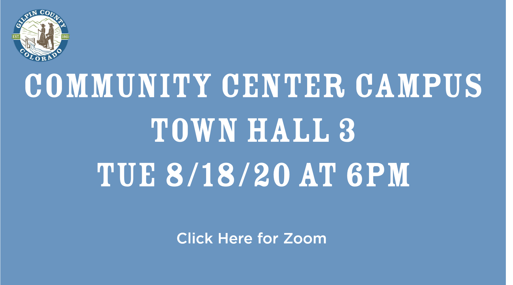 Community Center Town Hall #3
