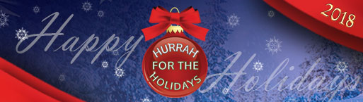 Hurrah for the Holidays ad image