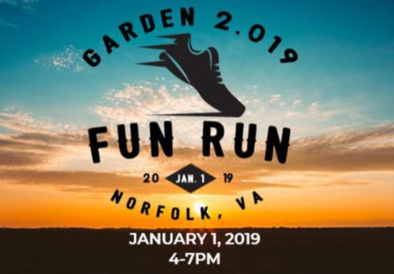 Garden 2.019 Fun Run logo