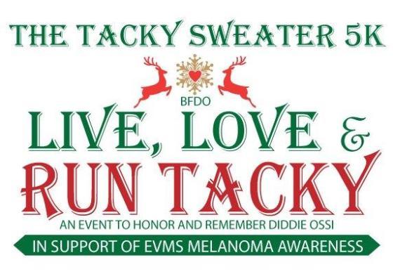 Tacky Sweater 5k logo