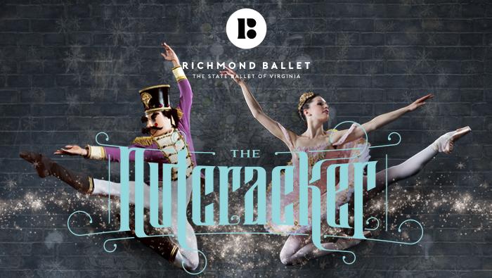 Richmond Ballet's Nutcracker ad image