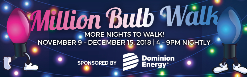 Million Bulb Walk header image