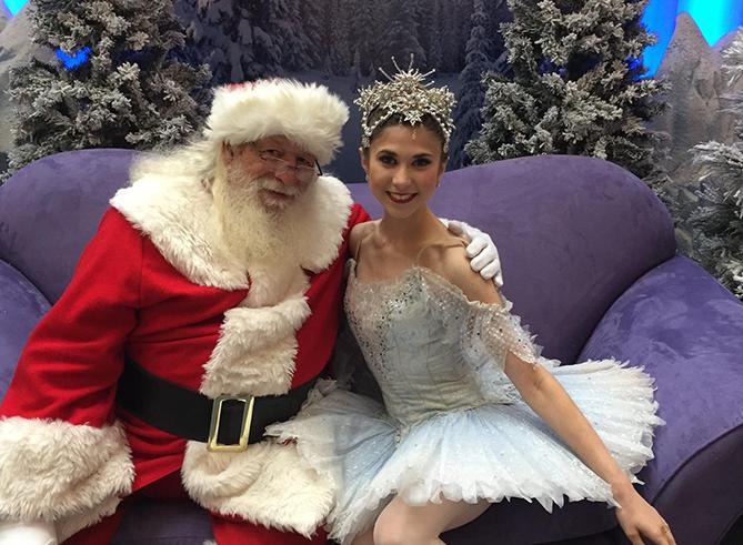 Santa & snow queen