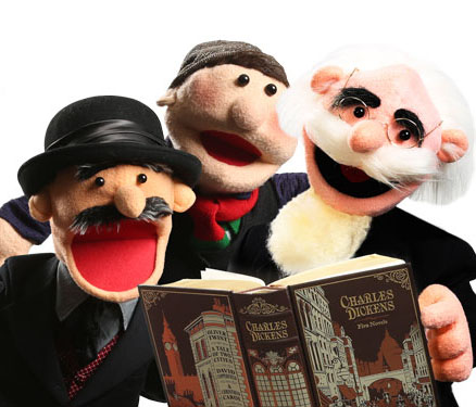 Puppets from Dickens Christmas Towne
