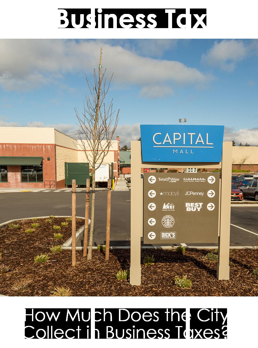 Capital Mall Sign