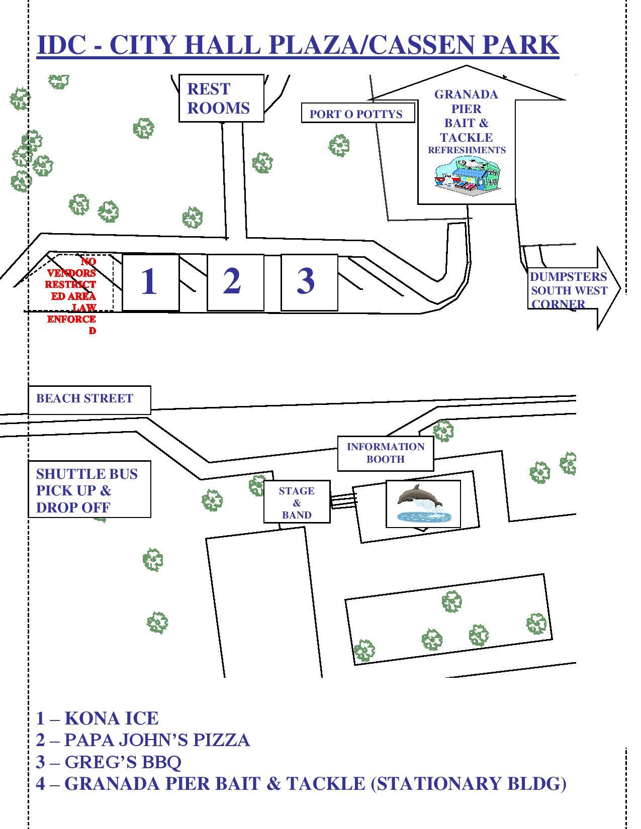 cassen park map