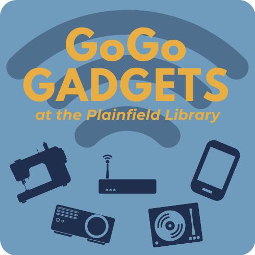 Library's GoGo Gadget logo
