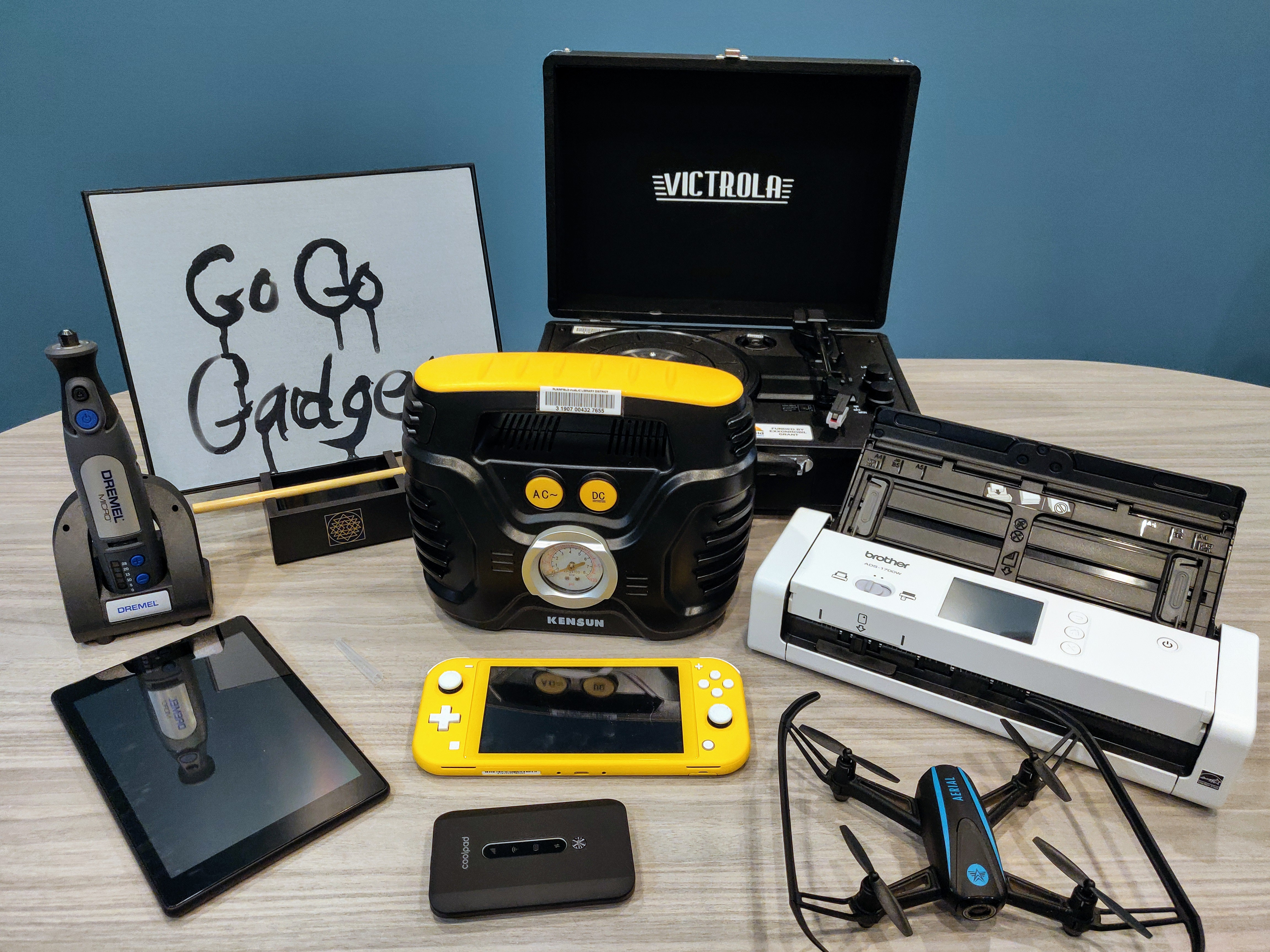 Library's GoGo Gadget collection