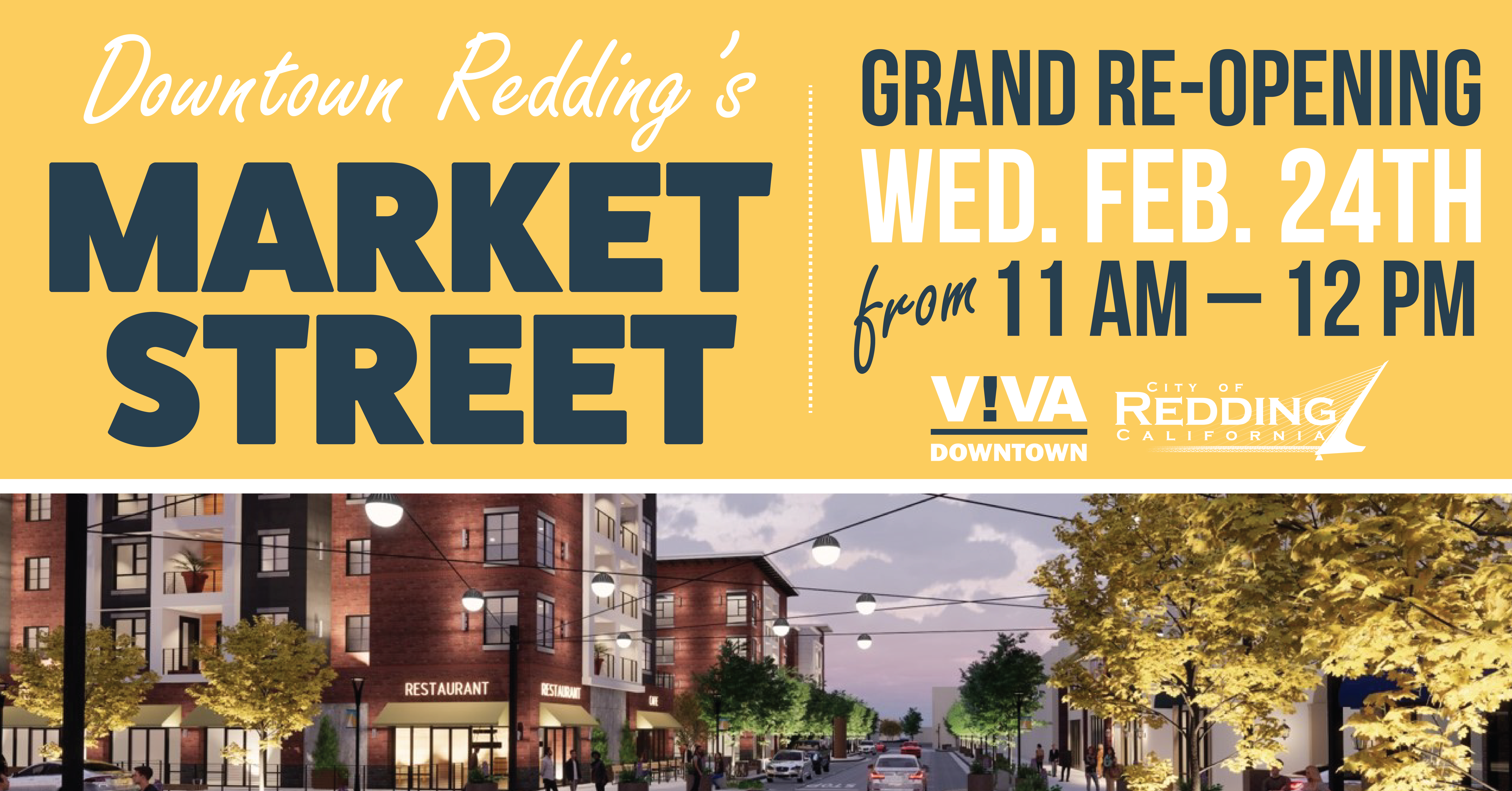 Market Street Re-Opening Virtual Ceremony