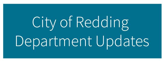 City of Redding Department Updates