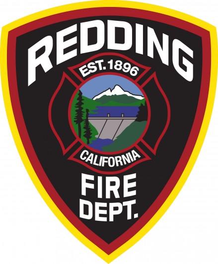 Redding Fire Department Badge
