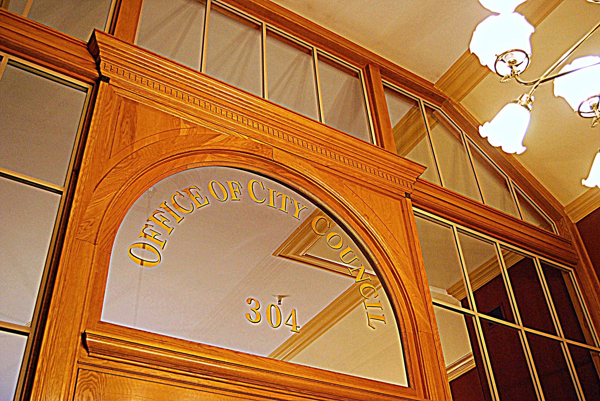 Council Office Entrance