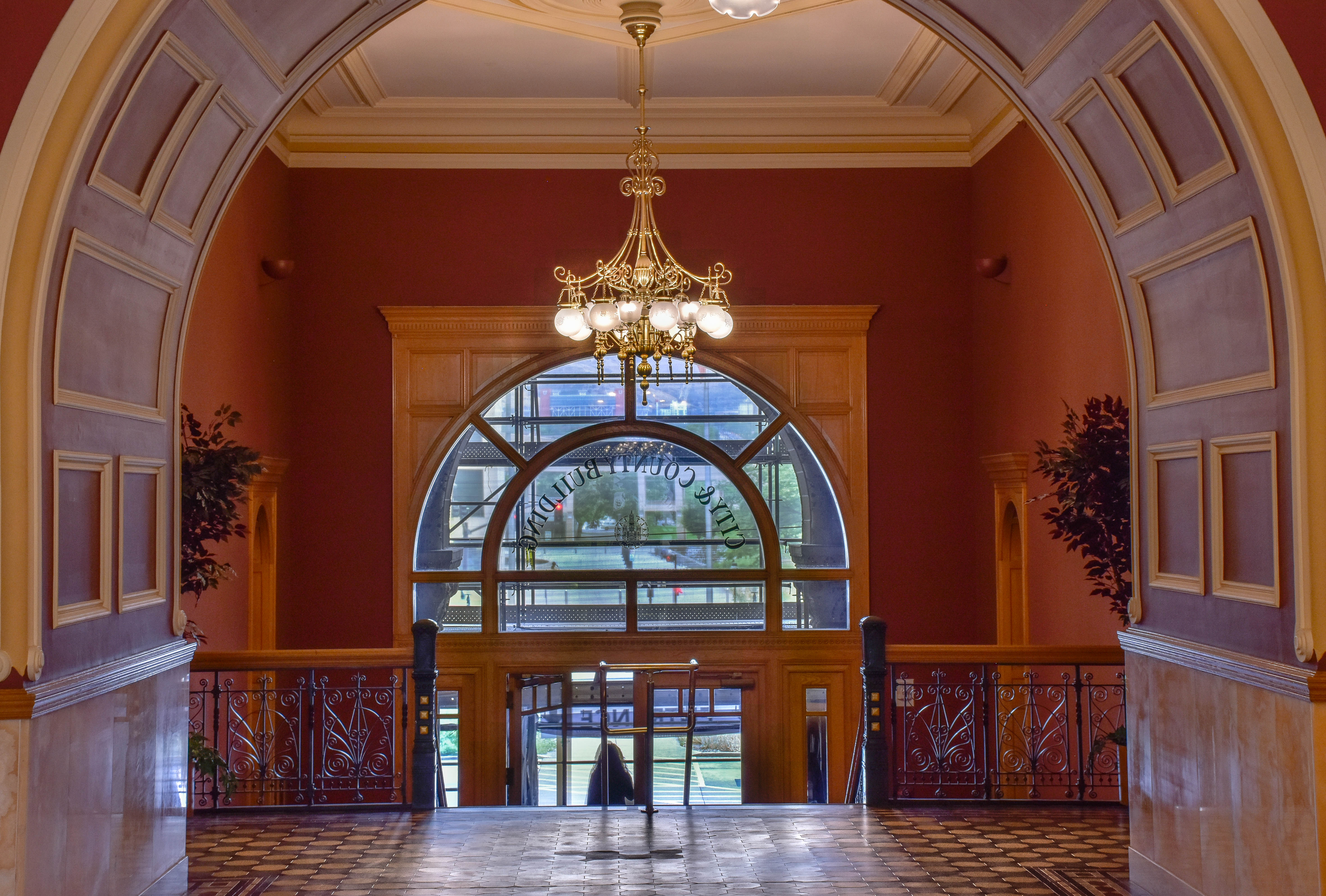Foyer of the City and County Building
