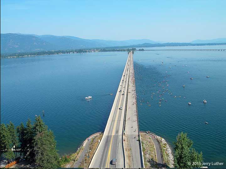 Long Bridge Swim - Jerry Luther