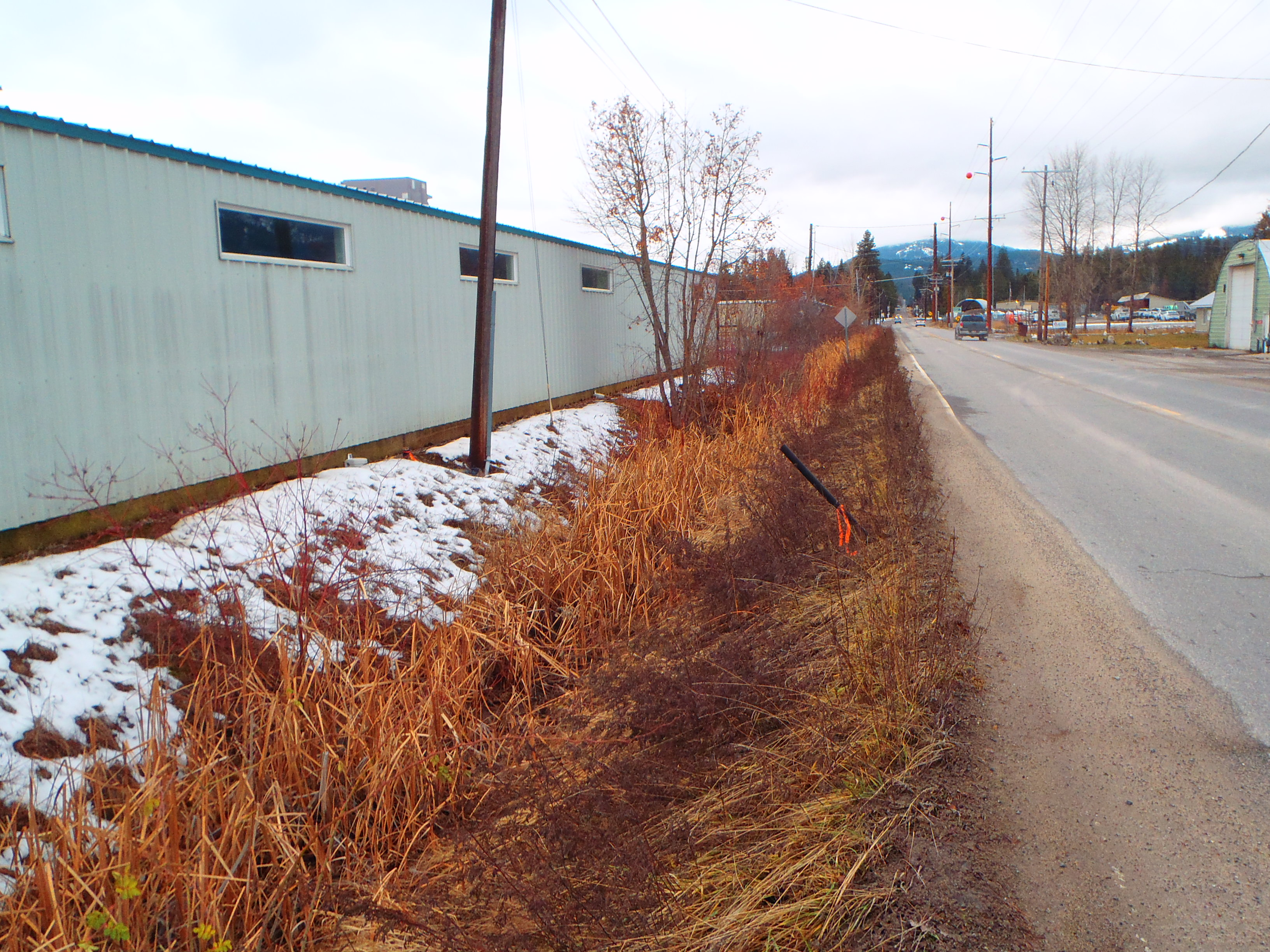 1411 N Division ditch by Baldy Mountain