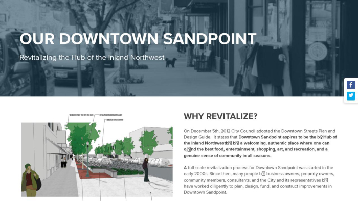 Our Downtown Sandpoint