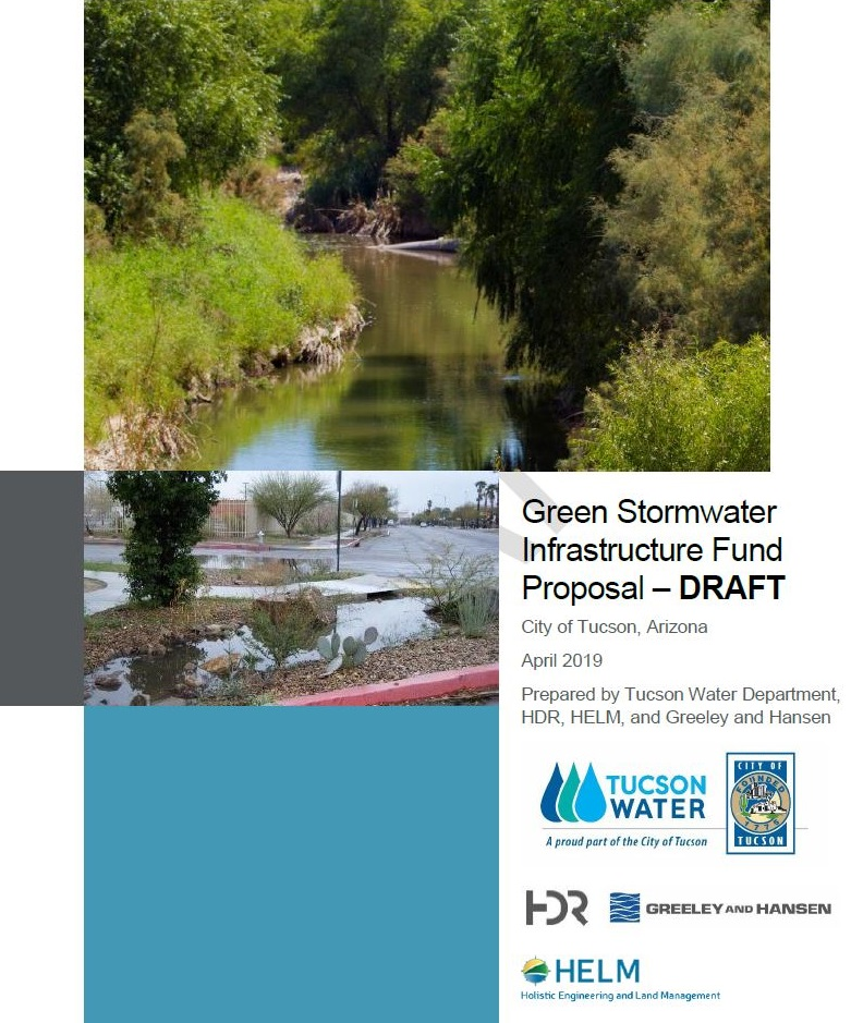 Cover of Green Infrastructure Fund Proposal - Draft